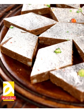 Kaju Chocolate Burfi