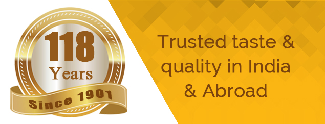 Trusted taste and quality in India and Abroad